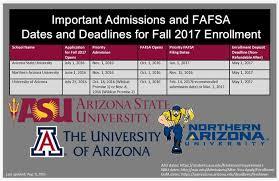 counseling u0026 social work important university deadlines fall 2017