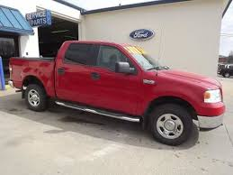 ford f150 truck 2005 used 2005 ford f 150 4 door crew cab bed truck