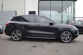 porsche cayenne blacked out second hand porsche cayenne diesel 245 5dr tiptronic s sold for