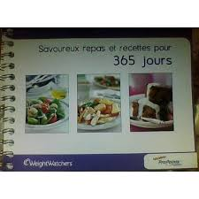 recette de cuisine weight watchers 365 recettes weight watchers