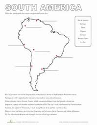 maps continents oceans worksheet label the continents and