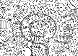 free printable abstract coloring pages for image 30