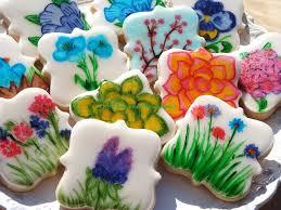 58 best flower cookies images on flower cookies