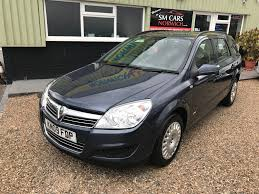 used vauxhall astra life estate cars for sale motors co uk