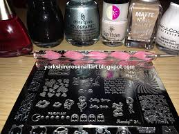 yorkshire rose nail art betty boop advanced nail stamping technique