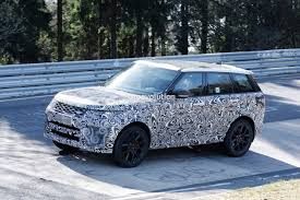 range rover land rover sport 2018 range rover sport svr shows production lights exhaust tips