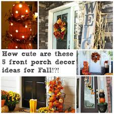 fall decorating ideas for your front porch u2013 decoto