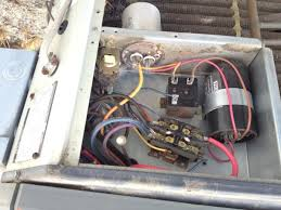 trane condenser fan motor replacement question about replacing capacitor on trane xl 1200 condensor