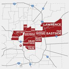 Riverside Zip Code Map by Target Impact Areas Employindy