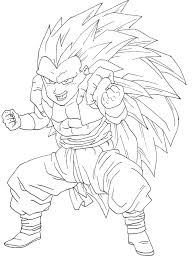 goten coloring pages goten super saiyan coloring pages download