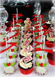christmas dessert buffet christmas cup cakes
