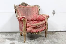 Victorian Armchair Chair Armchair Antique Victorian Armchair Ornate Wood Frame Very