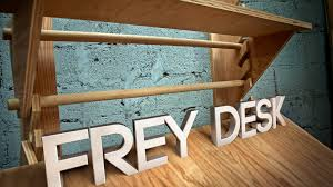 Wall Mounted Drafting Table by Frey Desk Flexible Workspace For Creative People By Nathan Frey