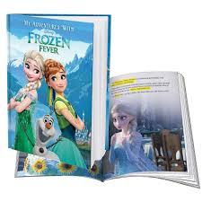 personalised disney frozen fever adventure book rrp 12 99 frozen