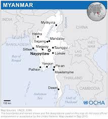 Bay Of Bengal Map Myanmar Location Map 2013 Myanmar Reliefweb