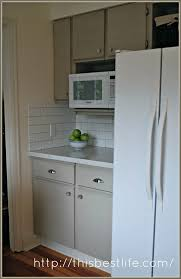 Annie Sloan Kitchen Cabinet Makeover 80 U0027s Melamine And Oak Kitchen Makeover A French Touch