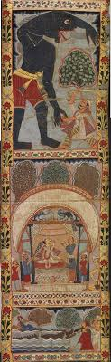 scenes from the legend of gazi a scroll painting murshidabad district bengal india circa 1800