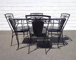 Wrought Iron Patio Table Set by Wrought Iron Patio Furniture Etsy
