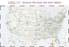 road map usa usa map