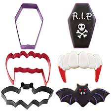 Decorate Halloween Cookies Vampire Halloween Cookie Cutter Set Halloween Cookies