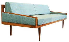 mid century style daybed sofa 2 100 est retail 1 300 on