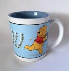 disney winnie pooh mug i heart you coffee cup large soup cup 18 oz