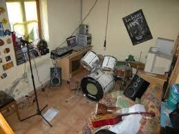 chambre d enregistrement la chambre de victorien équipée en petit studio d enregistrement