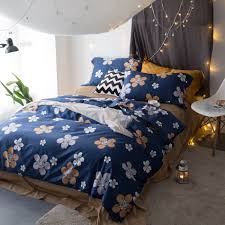 Blue Bed Set Online Get Cheap Blue Floral Comforter Set Aliexpress Com