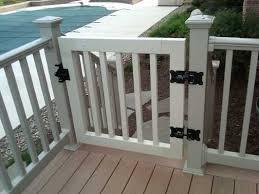 gates for porches gate kits vinyl deck and porch railing 7 best 25