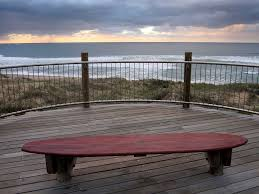 a bunch of benches surfboard bench