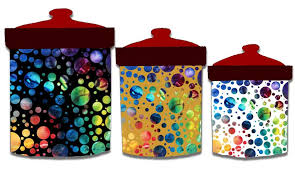 colorful kitchen canisters canisters extraordinary multi colored canisters kitchen canisters