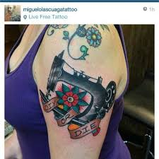 Machine Tattoo Ideas 34 Best Like Images On Pinterest Sewing Tattoos Sewing Machine