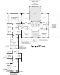 2nd Floor Plan Design High Pointe At St Georges Estate Collection The Langley Ii