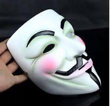 Anonymous Halloween Costume Anonymous Mask Ebay