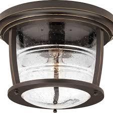Outdoor Flush Mount Lighting Fixtures Outdoor Ceiling Lighting Exterior Light Fixtures In Bronze