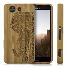 xperia z3 compact design wood cover for sony xperia z3 compact bamboo back