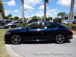camry 2018 new toyota camry se automatic at royal palm toyota serving