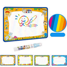 50x34cm baby kids add water with magic pen doodle painting picture