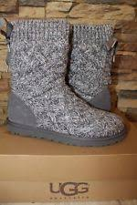 ugg womens lyla boots charcoal ugg australia suede winter boots for ebay
