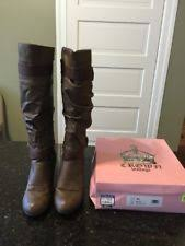 vintage womens boots size 11 crown vintage zip block boots for ebay