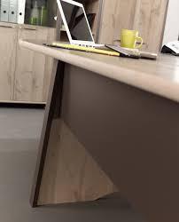 bureau mambo mambo chêne gris bureau informatique mobilier par famille mambo