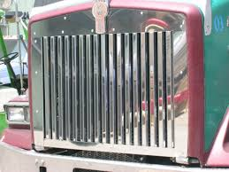 kenworth accessories canada kenworth t800 grill with 17 vertical bars raney u0027s truck parts