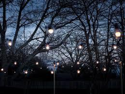 String Lights Garden by Outdoor String Lights Ideas Appealing Outdoor String Lights