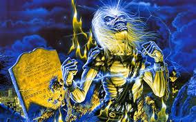 iron maiden heavy metal power artwork evil eddie