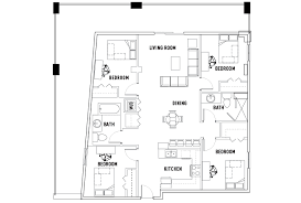 4 bedroom 2 bath floor plans 4 bed 2 bath deluxe 309 green housing chaign il