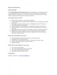 cover letter sample resumes for retail jobs sample resume for