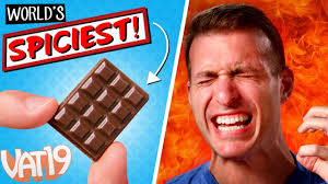 Top 10 Chocolate Bars In The World The World U0027s Hottest Chocolate Bar Extreme Spicy Challenge Youtube