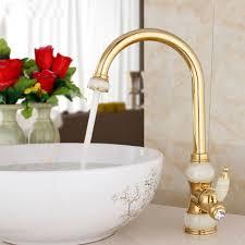 designer kitchen faucet gold single handle brass marble designer kitchen faucet 4 jpg