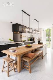 design kitchen tables with bench home ideas collection image on