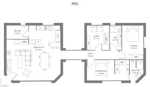 plan maison 7 chambres plan maison 4 chambres nouveau plan maison 110 m avec 4 chambres
